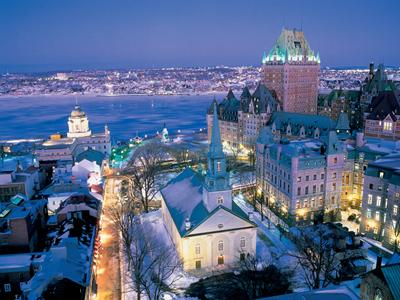 Quebec City ranks as top destination