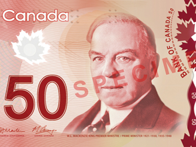 Canada's new polymer bank notes