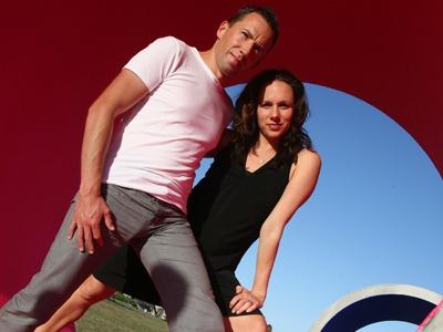 ARTIST PROFILE: Barbara Glazar and Ryan James