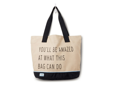 A bag that makes a statement and a difference
