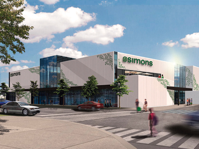 Simons open at Square One