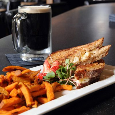 Lobster Grilled Cheese & Sweet Potato Fries – West of the City