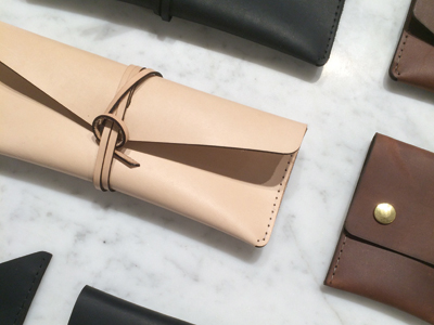 SHOP IDS FINDS: Leather Case
