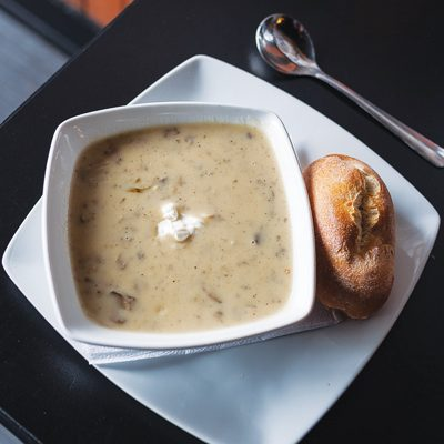Mushroom Tarragon Soup
