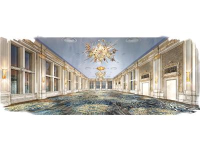 King Eddie undergoing ballroom restoration