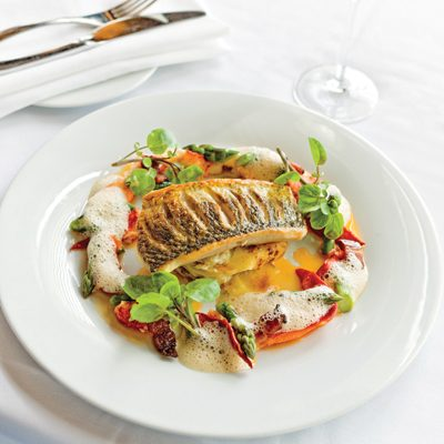 Pan Seared Lake Huron Whitefish