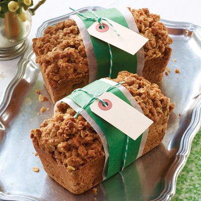 The Best Quick Loaf with Crumble-Top