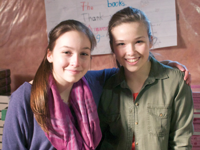 Oakville sisters featured in Search for Goodness campaign