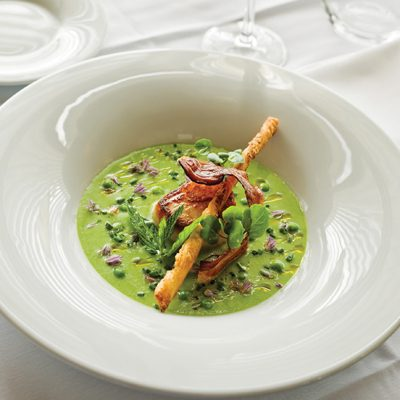 Cold Spring Pea Soup