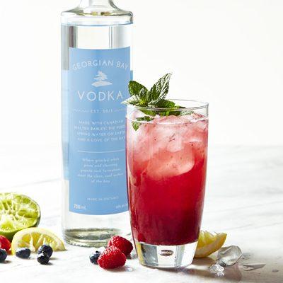 Georgian Bay Vodka Smash