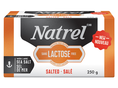 Natrel launches lactose-free butter