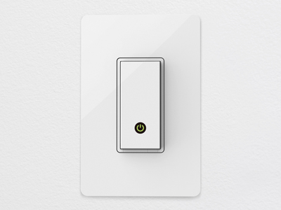 High tech light switch