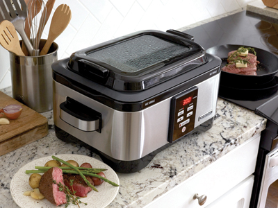 Double-duty slow cooker