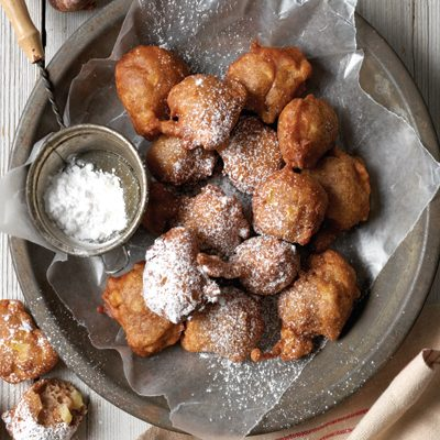 Spiced Apple Fritters