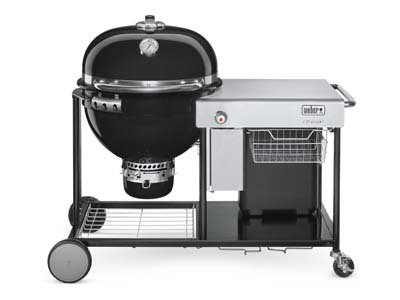Weber combines best of gas and charcoal grilling