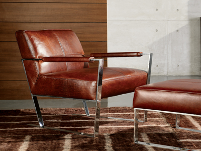 New leathers from Hauser Furniture