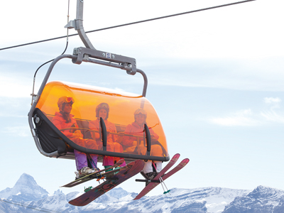 Sunshine Village launches first heated ski lift in Canada