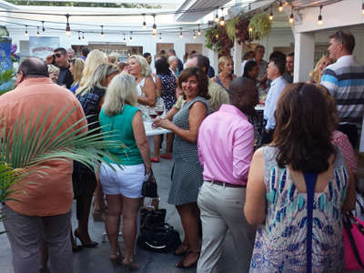 WEST of the City and St. Kitts host Late Summer Soiree