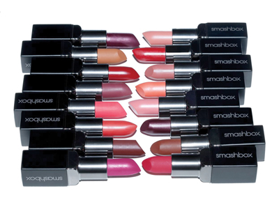 Luscious matte or creamy lips