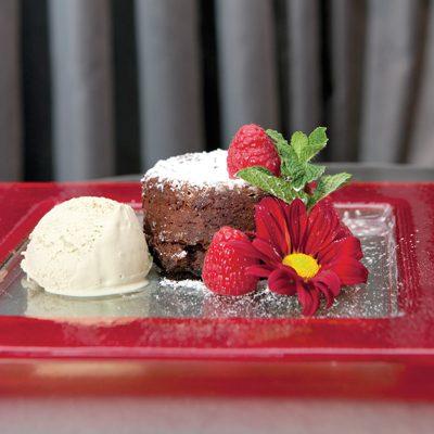 Chocolate Espresso Lava Cake