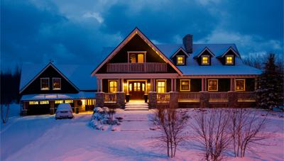 HOME TOUR: Ski Country Chalet