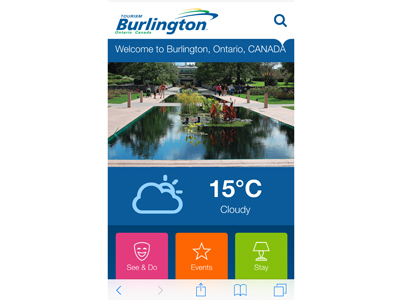 New app from Tourism Burlington