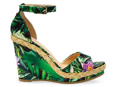 "SHOPAHOLIC: ""Peonia"" wedge sandal by Geox"