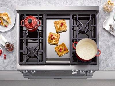 SHOP IDS FINDS: 36″ KMR 1136 Gas Rangetop with Griddle