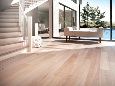 Seashore-inspired floor