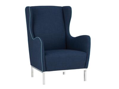 "SHOPAHOLIC: ""Study"" wingback chair"