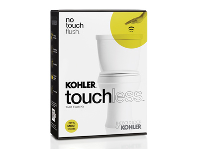 No-touch flush