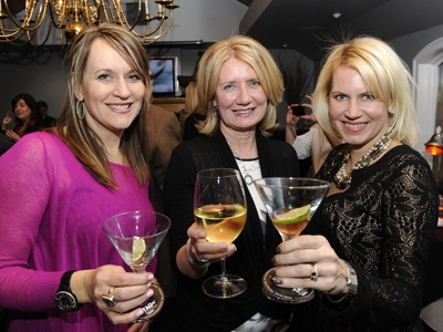 Lisa O'Hara, Dianne Standford and Candace Collins