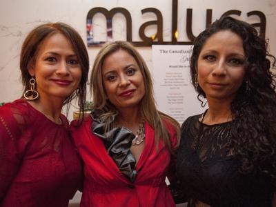 Saelmy Schmidt, Monica Benedetti and Karla Maya