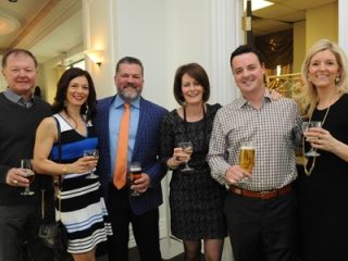Bruce Galloway, Cary and Paul Ceroni, Kelly Galloway, Bill and Andrea Sellon