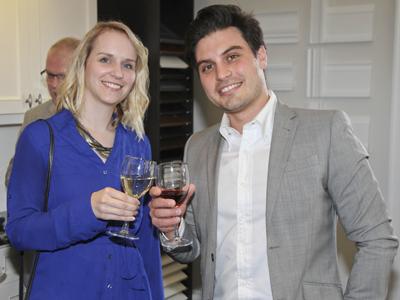 Karin Vandernberg and Joe Persia