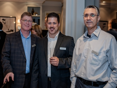 Jeff Faulkner, Rob Williams, and Tariq Alabbas