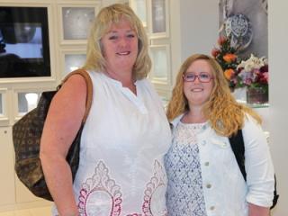 Gail and Nicola Coldwells