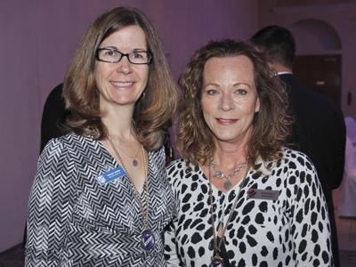 Tracey Nurmi and Kimberly Hartley