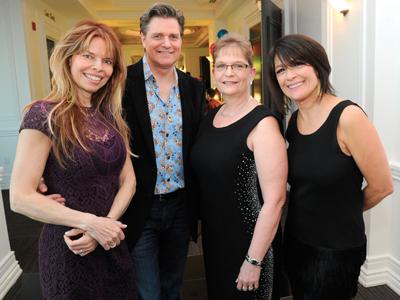 Marika and Wade Pedersen, Debbie Morris and Anna Rea