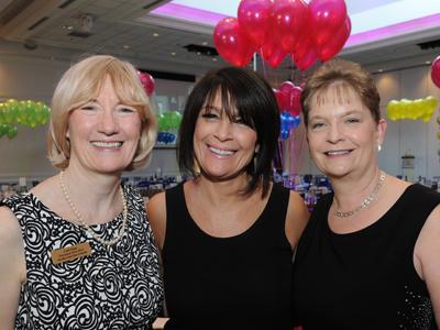Lori Sims, Anna Rea and Debbie Morris