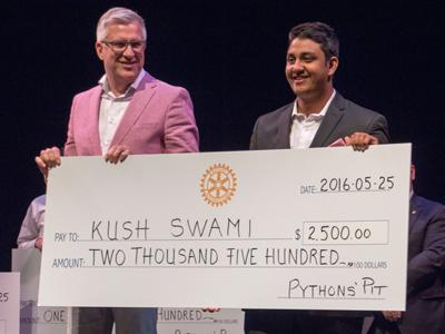 Martin van Zon and Kush Swami