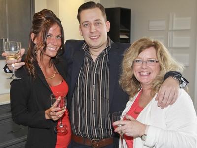 Elissa Filson, Brian Poddebski and Laurie Hall