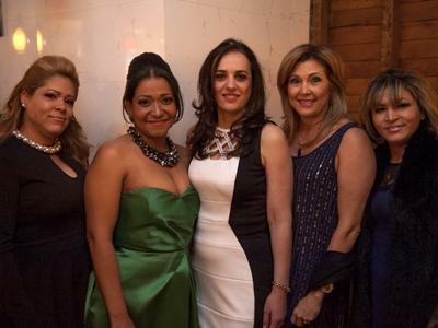 Dania Smiley, Alexandra Edgar, Antonella Nesci, Ana Rosa Urena and Annie Char