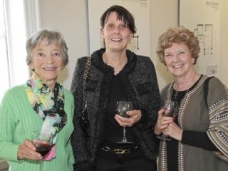 Liz Lucas, Renate Penkett and Carole Gilbert