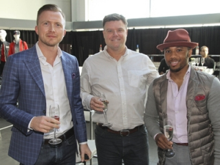 Mario Skopek, Kit Ward and Christopher Dewdney