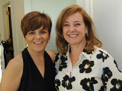 Sandra McAughey and Judy McLellan