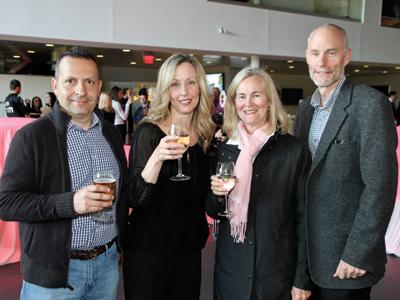 Alec Liatsidis, Cheryl Cake, Ann Corrigan and Bruce Trigg