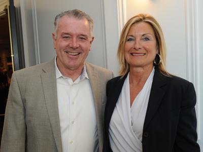Oakville MPP Kevin Flynn and Janice Flynn