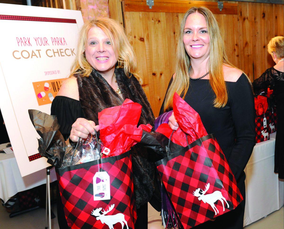 Charlene Codner and Sarah Grundy