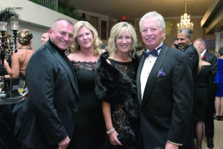 Mark and Erin Bisson, Julie and James Forte